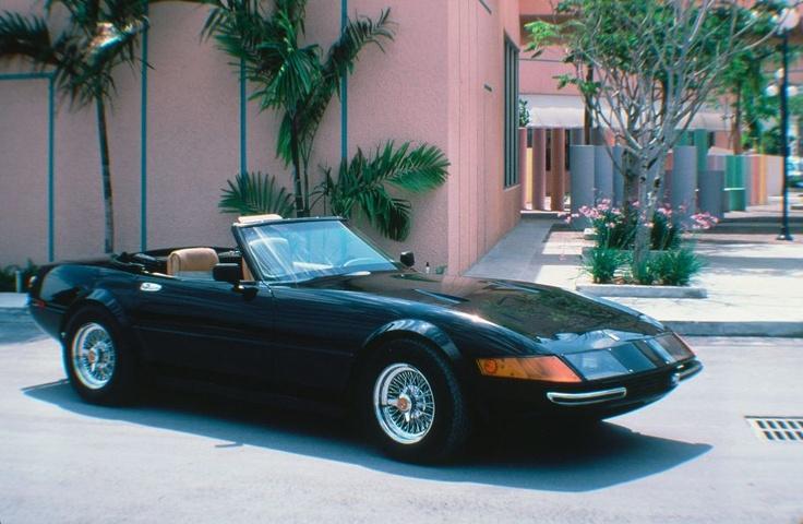 Ferrari Daytona Spyder 365 Replica Miami Vice Moviecars The Cult